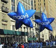 Blue And White Macy's Stars