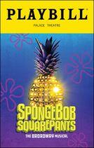 SpongeBob Playbill