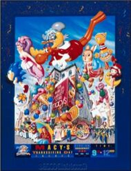 Macy's Parade 1996 Poster