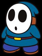 Chris the Dark Teal Shy Guy