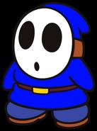 Clark the Blue Shy Guy