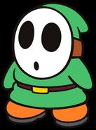 Conrad the Green Shy Guy