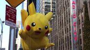 Pikachu with PokéBall balloon 2013
