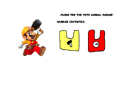 (I don't own the Image) Mario for the 2020 Parade