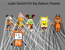My big balloon parade