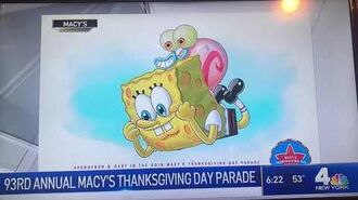 93RD ANNUAL MACY'S THANKSGIVING DAY PARADE 2019 on NBC 4 News 11 01 2019