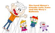 LincolnAndHisYoungerSistersMacysParadeBalloons