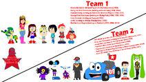 Teams for Balloon Bet Week 23