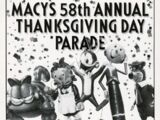 The 58th Annual Macy's Thanksgiving Day Parade
