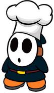 Vincenzo the Dark Teal Chef Shy Guy