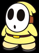 Echo the Light Yellow Shy Guy