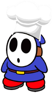 Giovanni the Chef Blue Shy Guy
