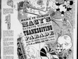 The 20th Annual Macy's Thanksgiving Day Parade