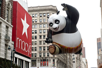 Kung fu panda in macys thanksgiving day parade-kent miller