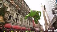 Kermit the Frog Balloon 2010