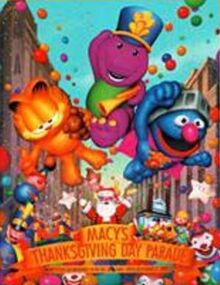 Macy's Thanksgiving Day Parade 2003 Poster