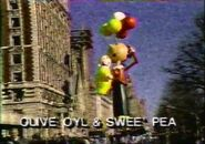 Cbs Olive Oly and Swee'pea 1986