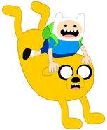 Finn and Jake Balloon (Shea's Style)