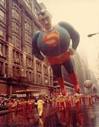 Superman in the parade