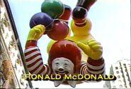1990 Ronald McDonald Balloon