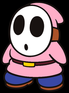 Cyrus the Pink Shy Guy