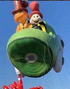 Balloontestflight