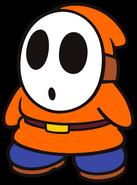 Chet the Orange Shy Guy