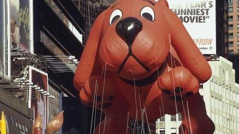 The History of Clifford The Big Red Dog in the Macy's Thanksgiving Day Parade