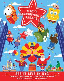 2019-Macys-Thanksgiving-Day-Parade-poster