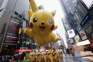 Pikachu balloon 2006
