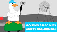 Balloonicle Idea - Golfing Aflac Duck