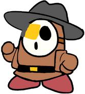 Zanbato the Tan Brown Shy Guy