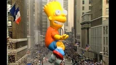 Bart Simpson Macy's Day Parade Balloon (1991)