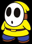 Cole the Yellow Shy Guy