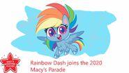 MLP Rainbow Dash Parade Balloon idea 2