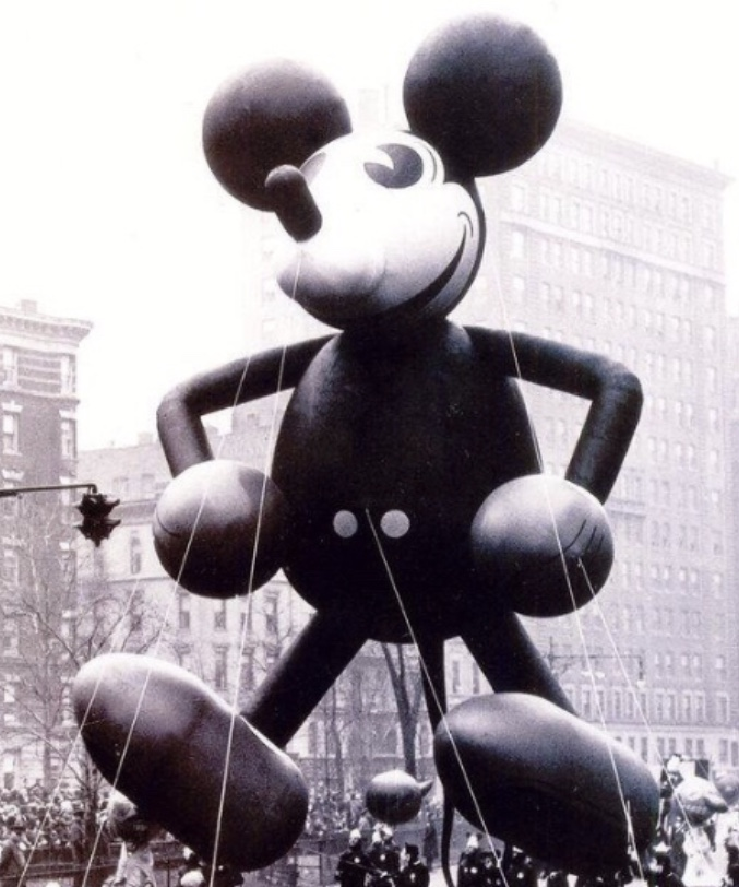 Image result for Mickey mouse thanksgiving day parade