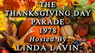 LINDA LAVIN - THE THANKSGIVING DAY PARADE 1978 - TELEVISION SPECIAL