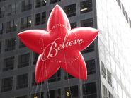 Red Believe Star