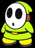 Colby the Lime Green Shy Guy