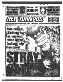 Macy's Parade 1997 Newspaper