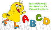 MTDP-RollerSkatingBigBirdBalloon