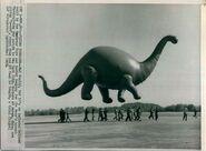 Sinclair Dinosaur circa 1963
