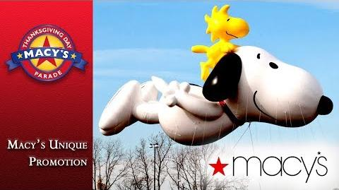 Macy's Parade - One of a Kind Marketing