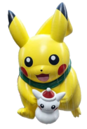 Pikachu SnowPika 2016