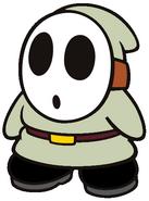 Caleb the Green Gray Shy Guy