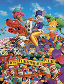 Macy's Parade Poster 1990