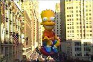 1990 Bart Simpson Balloon