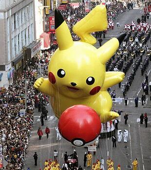 Pikachu Macy S Thanksgiving Day Parade Wiki Fandom