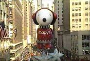 1990 Snoopy and Woodstock Balloon
