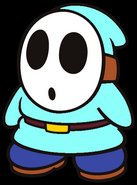 Colm the Light Blue Shy Guy